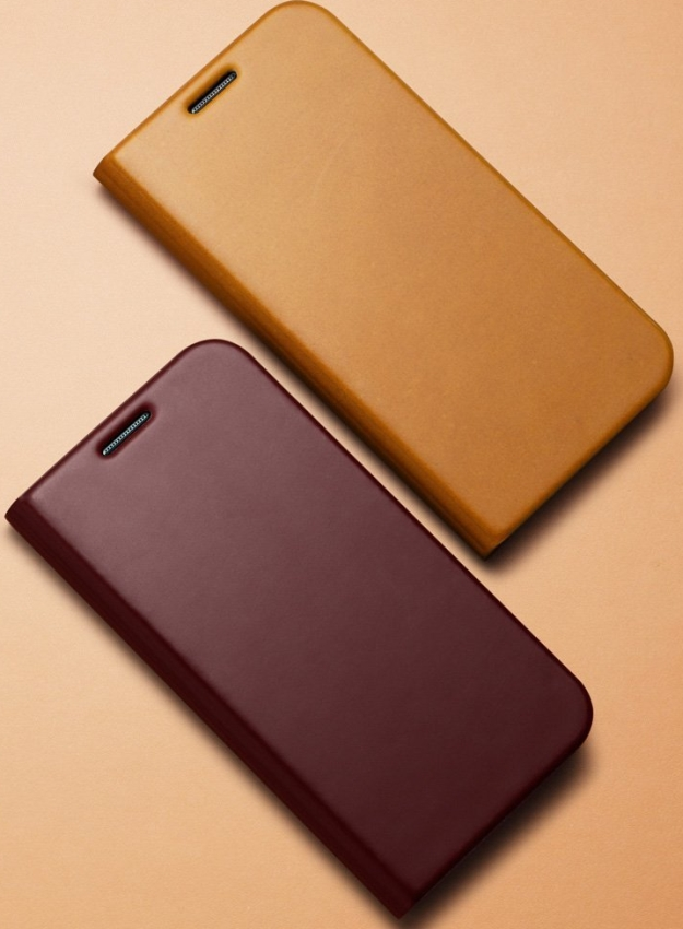 Slim Wallet S Flip Leather Cover for Galaxy S4