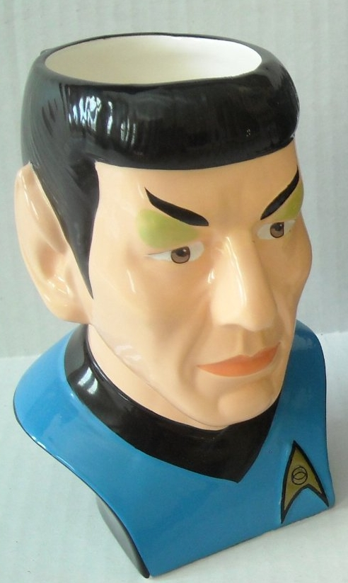 Star Trek the Original Series Mr Spock Figural Mug