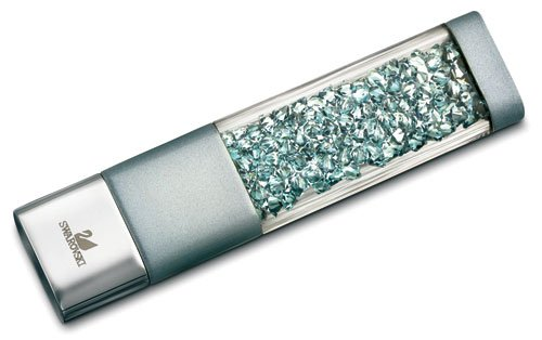 Swarovski Crystalline USB Key, Indian Sapphire