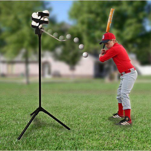 Trend Sports Scorpion Soft Toss Pitching Machine With 8 Hour Battery