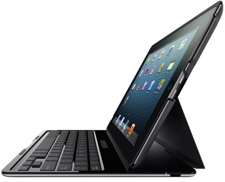 Ultimate Wireless Keyboard and Case for iPad 2, 3rd Gen and 4th Gen with Retina Display