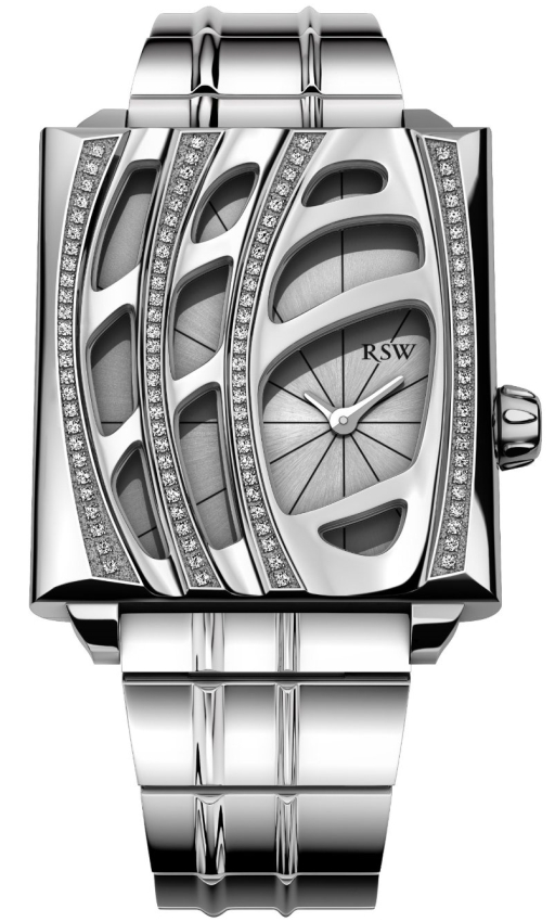 Women's Wonderland Stainless-Steel Diamond Bracelet Watch