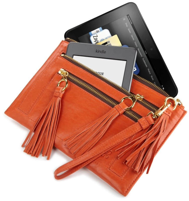 Zipper Clutch for All Kindle E-readers