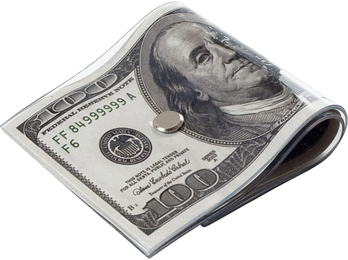 100 US Dollar Bill Door Stopper