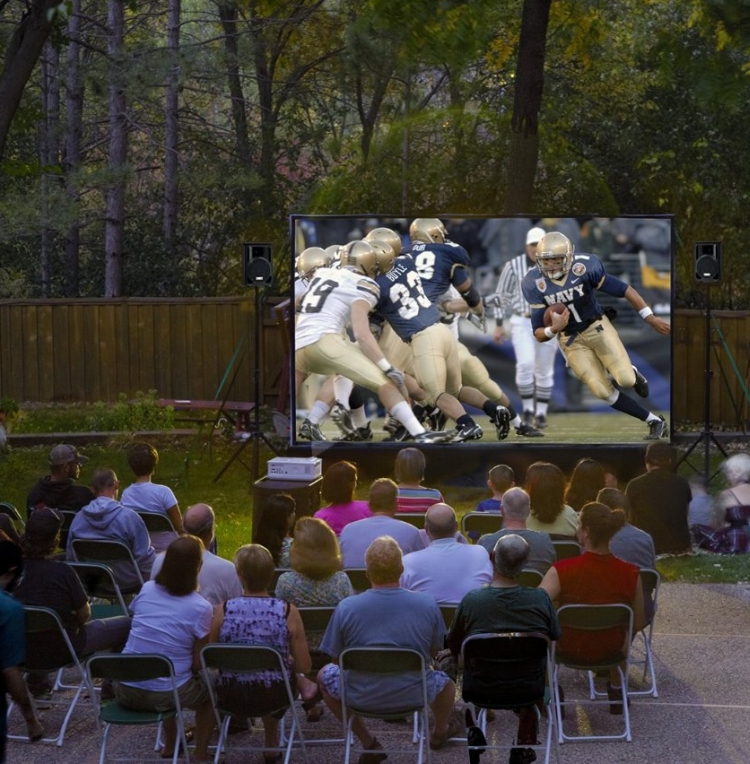 12-Foot Outdoor Entertainment System