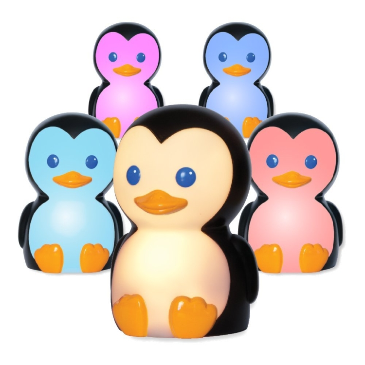 1Onaroo Danny The Penguin Portable Night Light