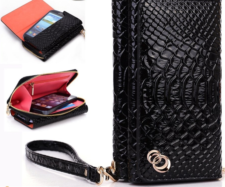 1Women's Wallet Wrist-let Lady Bag for HTC Rider