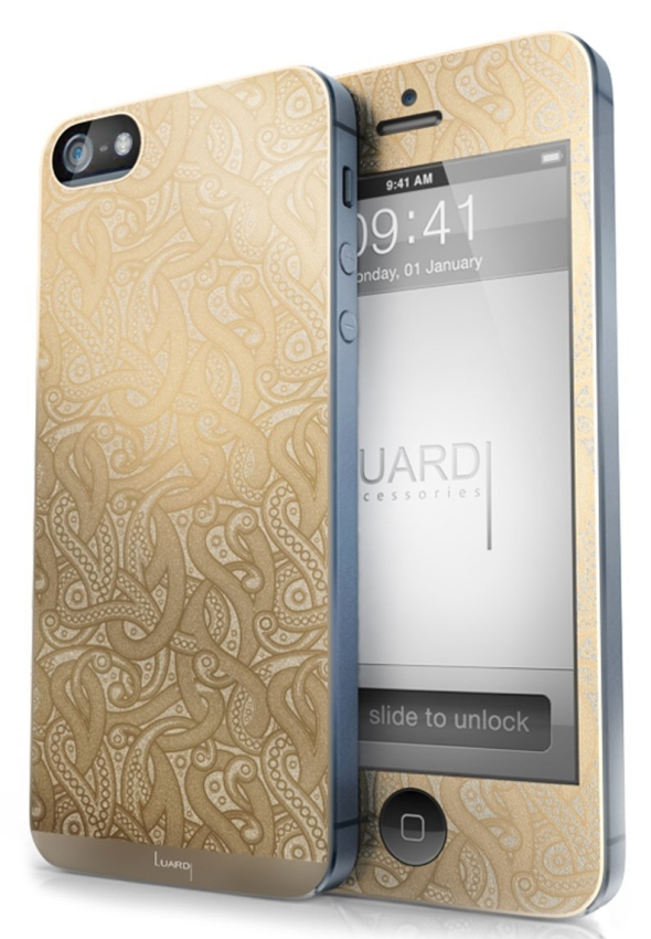 24 Karat Plated Skin for iPhone 55S