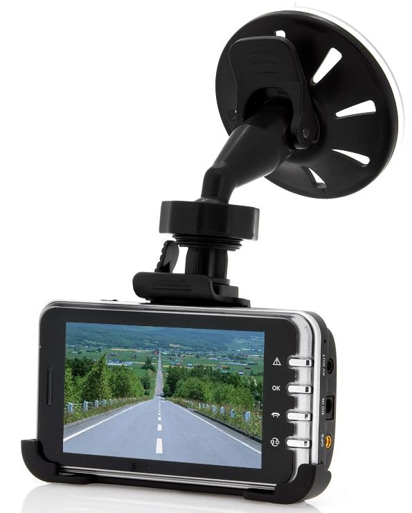 720p HD Car Dashcam