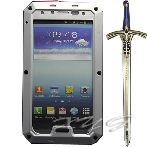 Aluminum Metal Gorilla Glass Military Heavy Duty Protection Hard Cover Skin Case