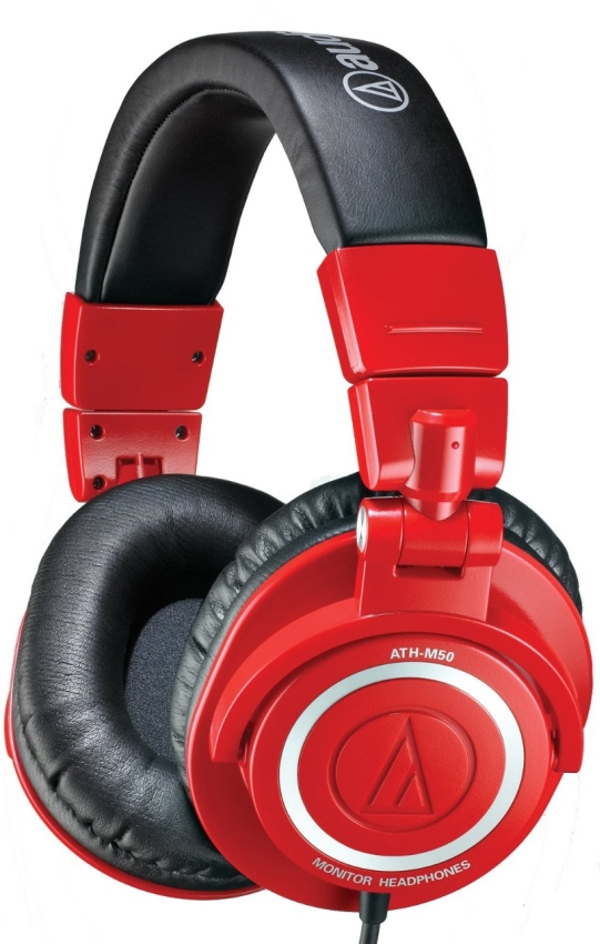 Audio Technica ATH-M50RD Limited Edition Headphones