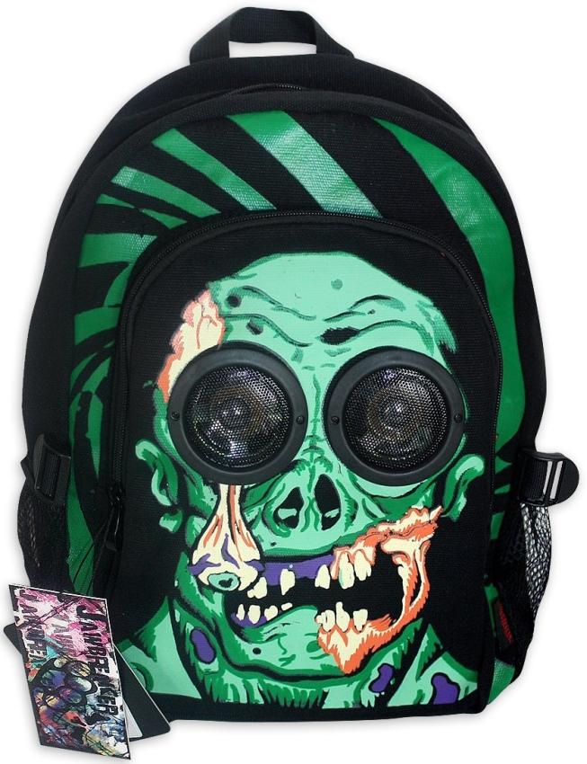 Backpack Dia De Los Muertos Green Zombie
