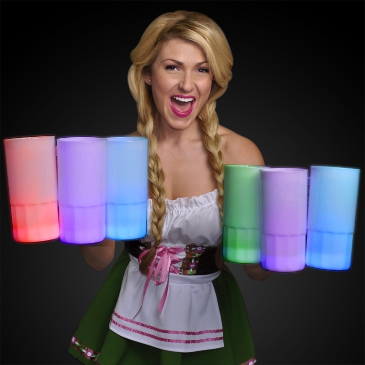 Beer Stein with Multicolor LEDs