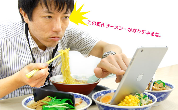 Delicious Bowl Noodles Smartphone Stand