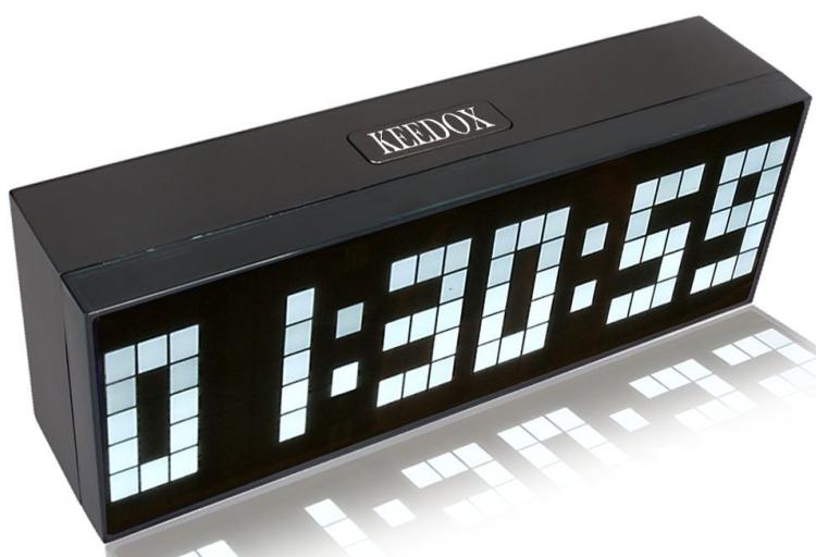 Digital Large Big Jumbo LED Wall Desk Alarm Clock