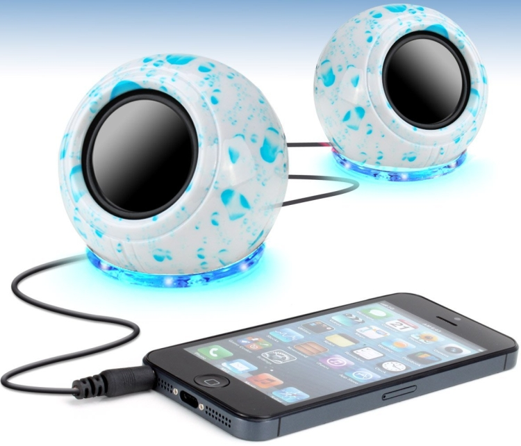 Dual USB Powered Computer Stereo Speakers