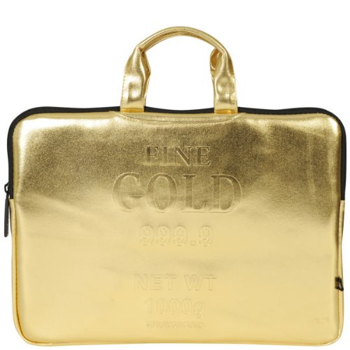 Gold Brick 15 Laptop Case
