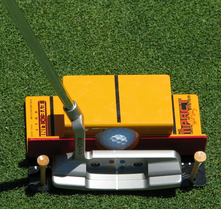 Golf Hank Haneys Putting Impact System