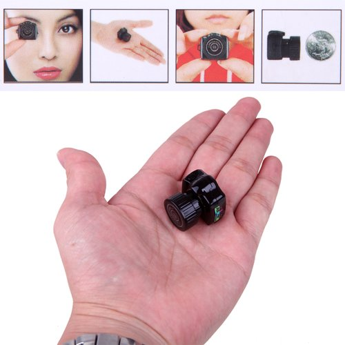 HDE Smallest Tiny Mini Digital Video Recording DVR Micro Camera