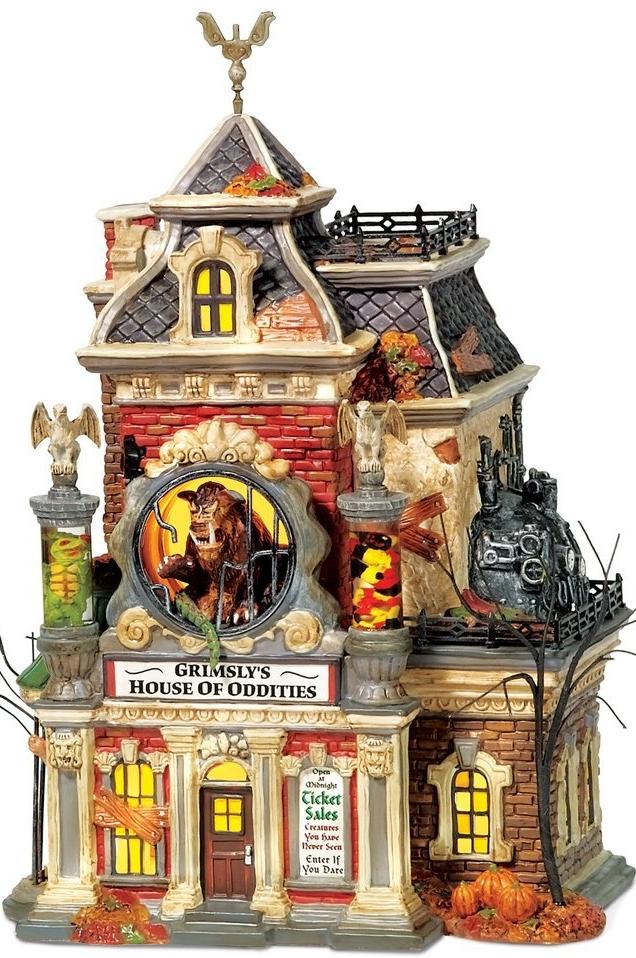 Halloween Grimsly's House of Oddities