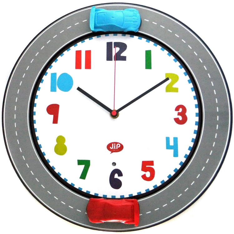 Happy Traffic Wall Clock