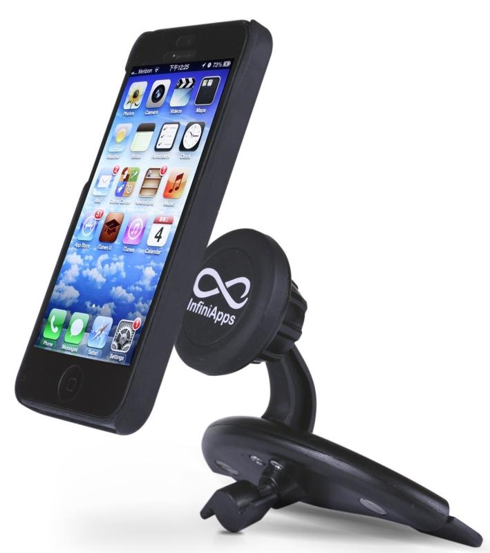 InfiniApps Slyde CD Slot Mount for Smartphones