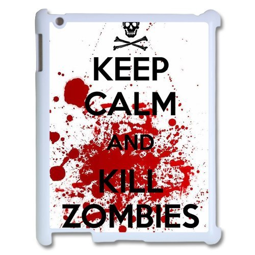 Keep Calm and Kill Zombies Pattern  Case