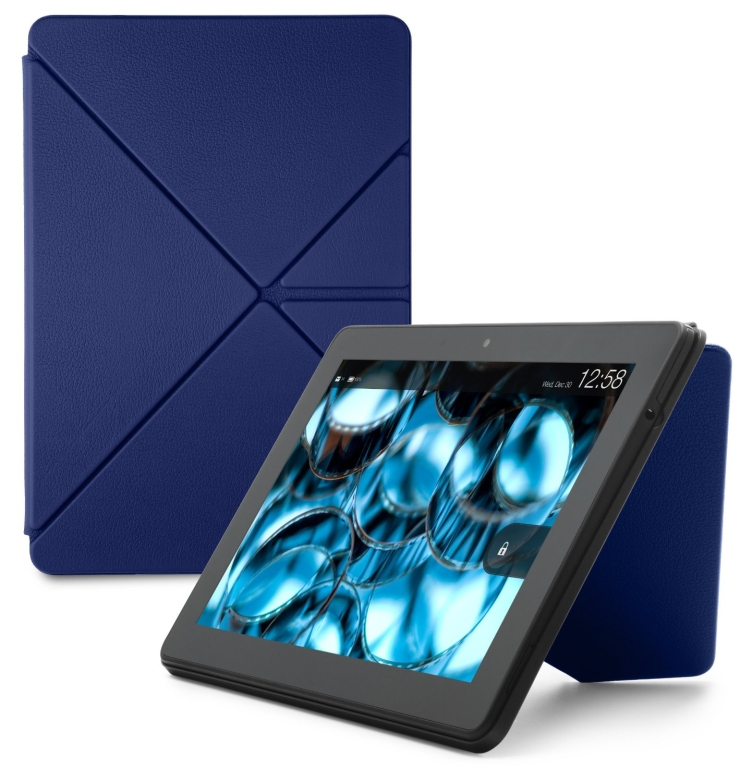 Kindle Fire HDX 8.9 Standing Leather Origami Case