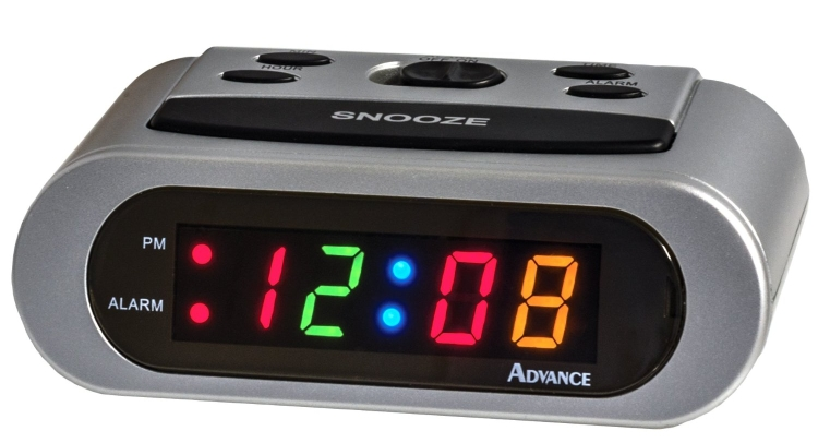 LED 6-inch Alarm Clock