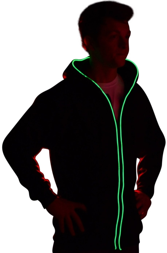 Light up Hoodies by Electric Styles