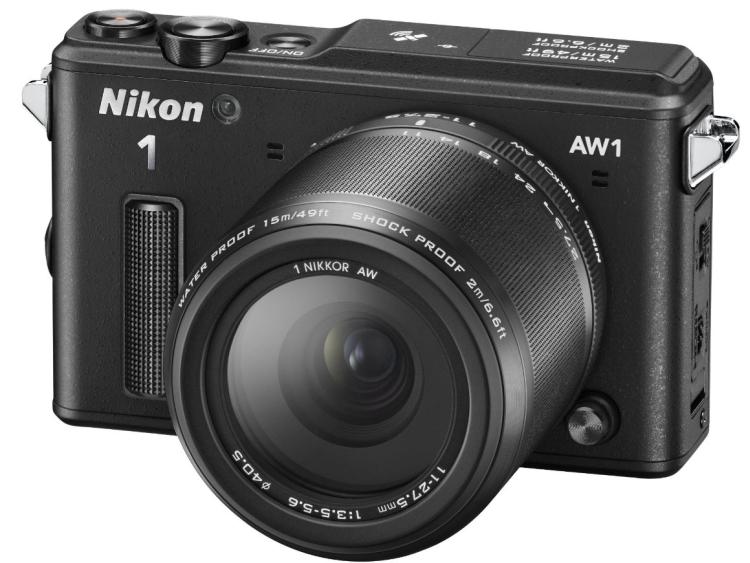 Nikon 1 AW1 14.2 MP HD Waterproof, Shockproof Digital Camera System