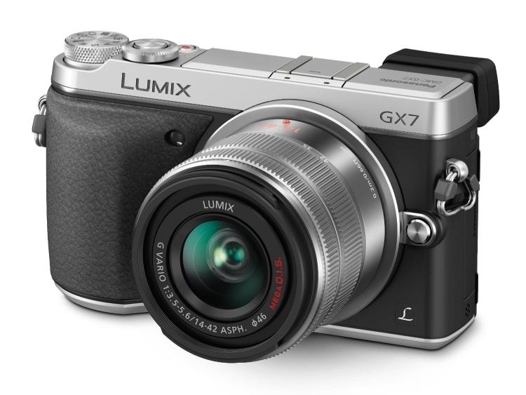 Panasonic LUMIX GX7 16.0 MP DSLM Camera