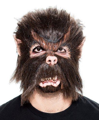 Paper Magic Men's Werewolf Moving Jaw Mask