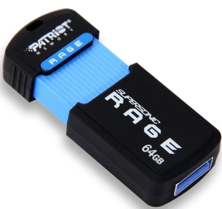 Patriot Supersonic Rage XT 64GB USB 3.0 Flash Drive