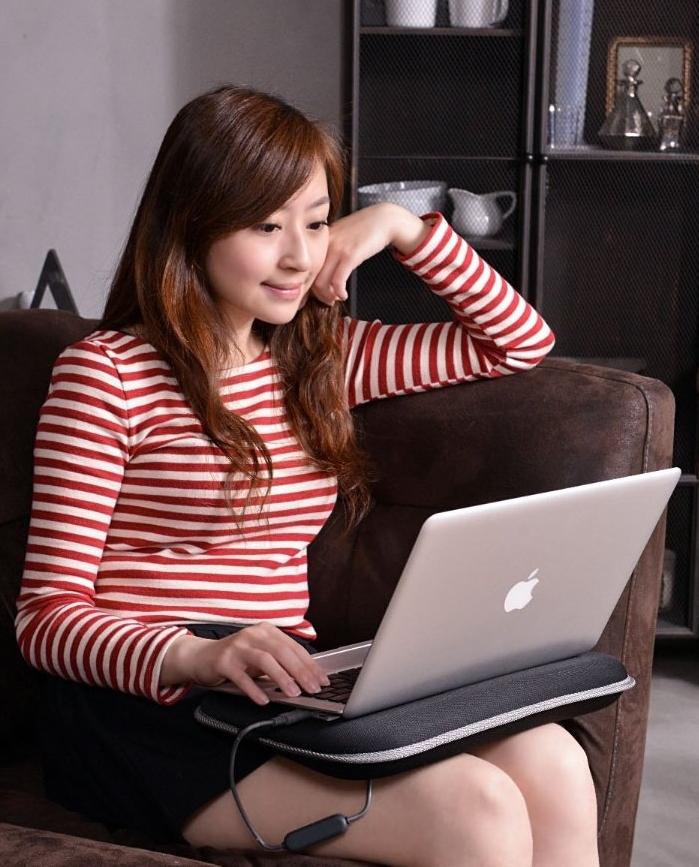 Pillow Lap Desk for Laptops