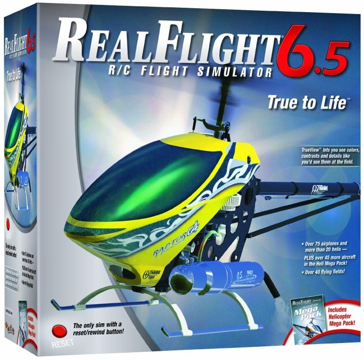 RealFlight 6.5 Heli Edition Mode 2 with InterLink