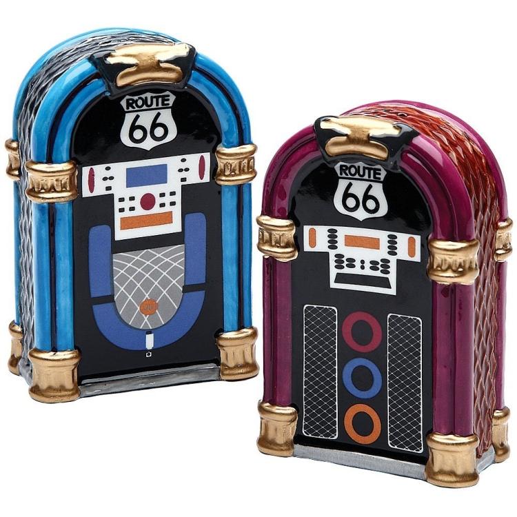 Route 66 Jukebox Shaker Set
