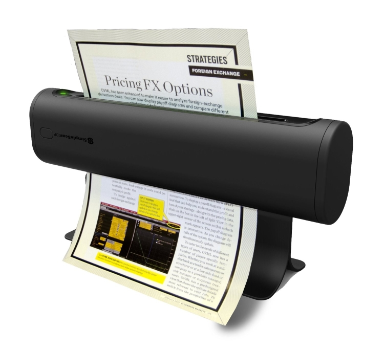 SimpleScan DP SM48301 Duplex Mobile Document Scanner