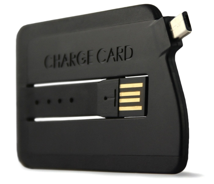 Slim USB Cable, Credit Card Sized