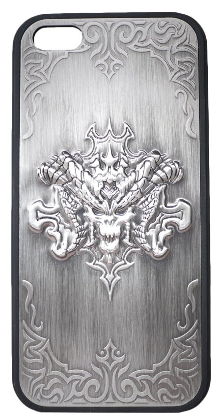 Special 3D Metal-like DevilSkull Hard Case Cover  for Apple iPhone 5