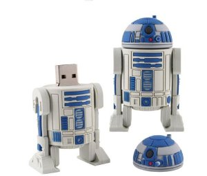 Star Wars R2D2 Robot USB Flash Pen Drive 32 GB