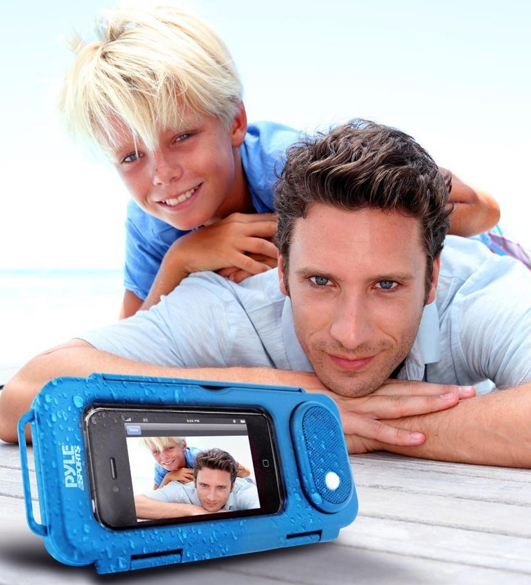 Surf Sound Waterproof Portable Speaker Case
