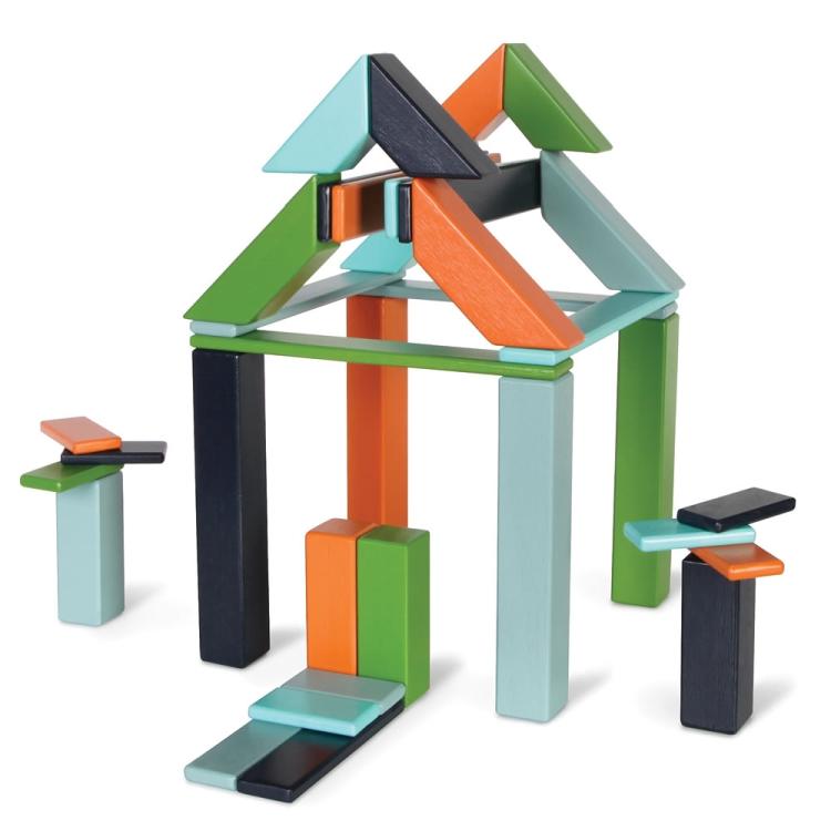 The Magnetized Wooden Blocks Set