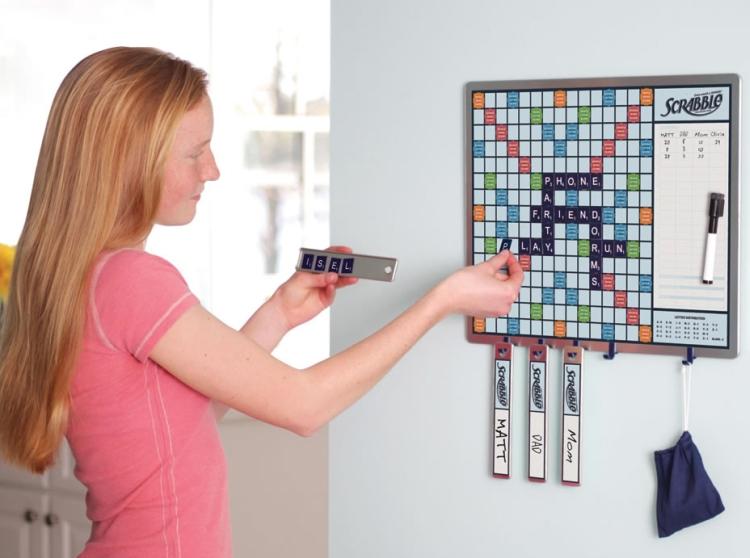The Walk By Scrabble Board