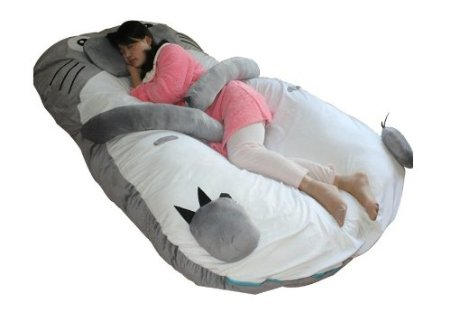 Totoro Double Bed Sleeping Bag Pad Sofa