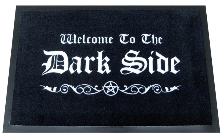 WELCOME TO THE DARK SIDE DOORMAT