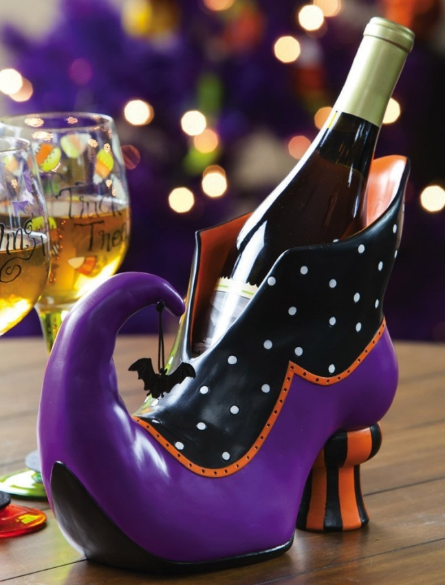 Witch Bootique Witchs Shoe Wine Bottle Holder