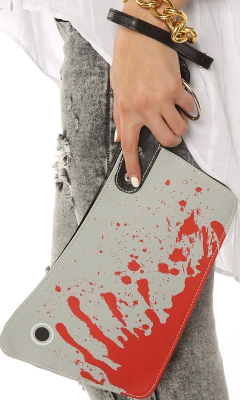 Womens Killin It Cleaver Clutch