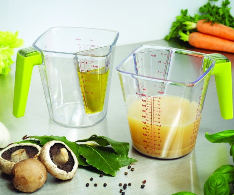 2-in-1 Large and Small Volume Measuring Jug