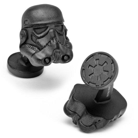 3D Storm Trooper Helmet Cufflinks